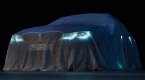 Teaser del BMW Serie 3