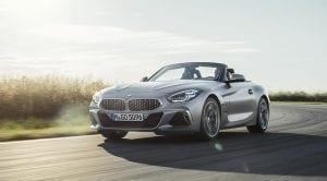 BMW Z4 perfil delantero
