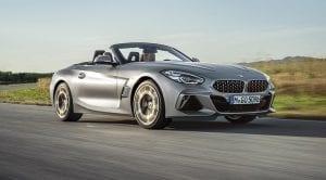 BMW Z4 perfil delanero