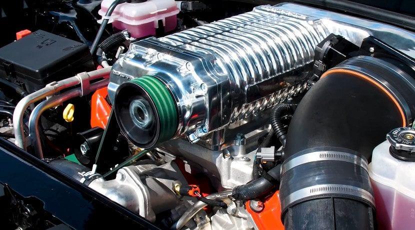 Motor del Dodge Demon de Hennessey