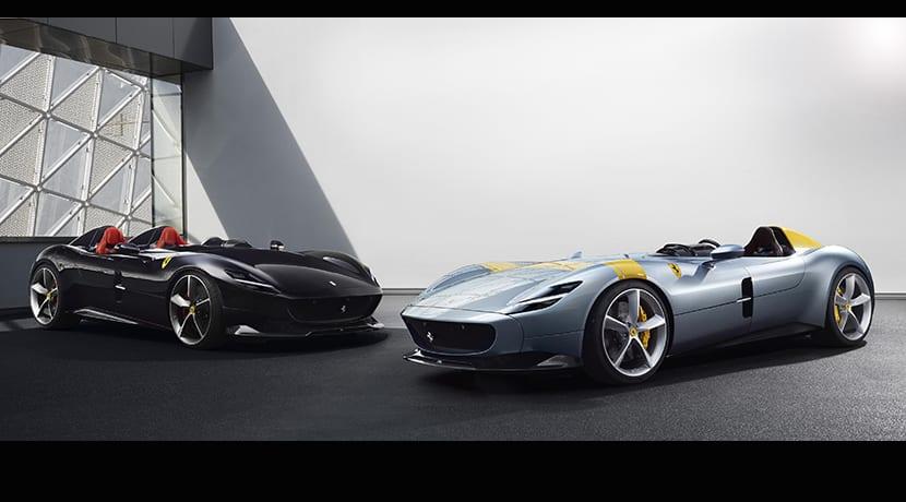 Ferrari Monza SP1 y Ferrari Monza SP2