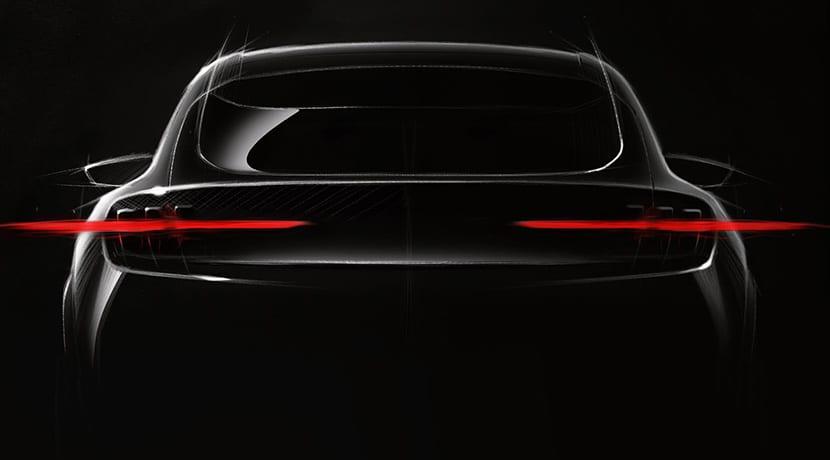 Teaser del Ford eléctrico para 2020