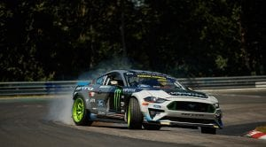 Ford Mustang Drift en Nürburgring