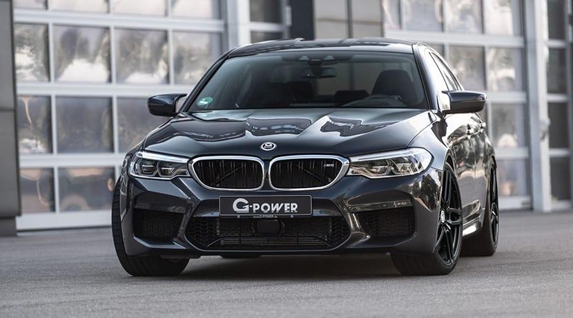 BMW M5 F90 800 CV por G-Power