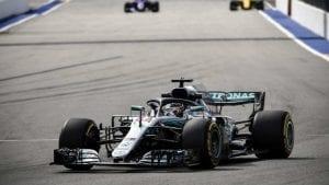 Hamilton en el GP de Rusia
