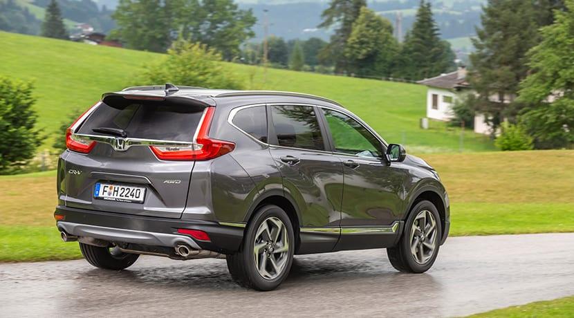 Honda CR-V perfil trasero