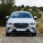 Frontal del Mazda CX-3 2018