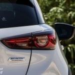 Luces traseras del Mazda CX-3 2018