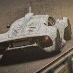 Trasera del Mercedes AMG One Camuflado
