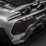 Difusor del Mercedes AMG One