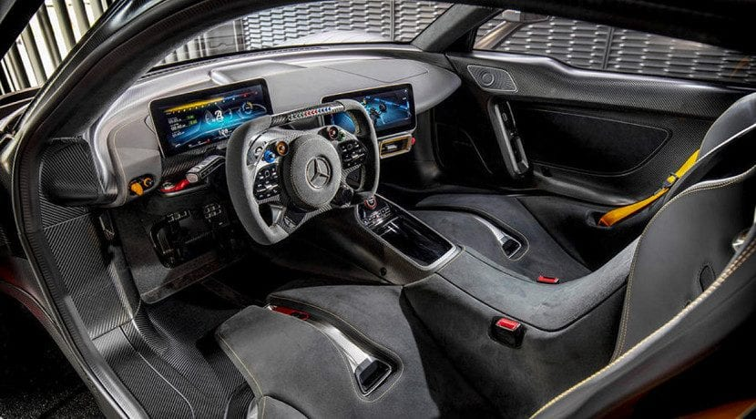 Interior del Mercedes AMG One