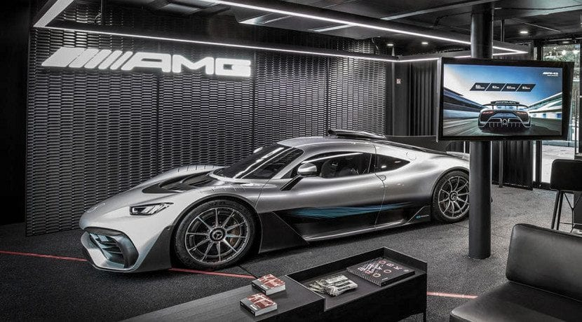 Lateral del Mercedes AMG One