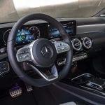Mercedes-Benz Clase A Sedán diseño interior