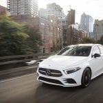 Mercedes-Benz Clase A Sedán perfil dinámica