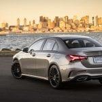 Mercedes-Benz Clase A Sedán trasera
