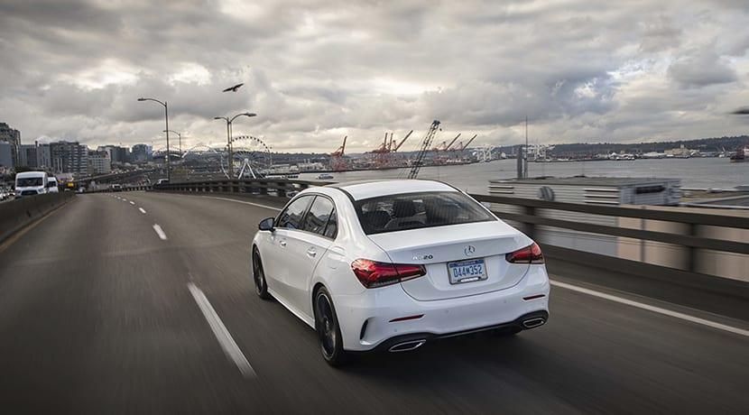 Mercedes-Benz Clase A Sedán dinámica