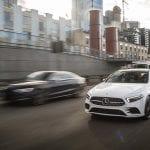 Mercedes-Benz Clase A Sedán delantera dinámica