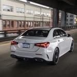 Mercedes-Benz Clase A Sedán trasera dinámica