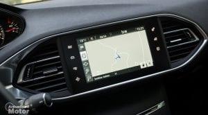Pantalla de infoentretenimiento Peugeot 308