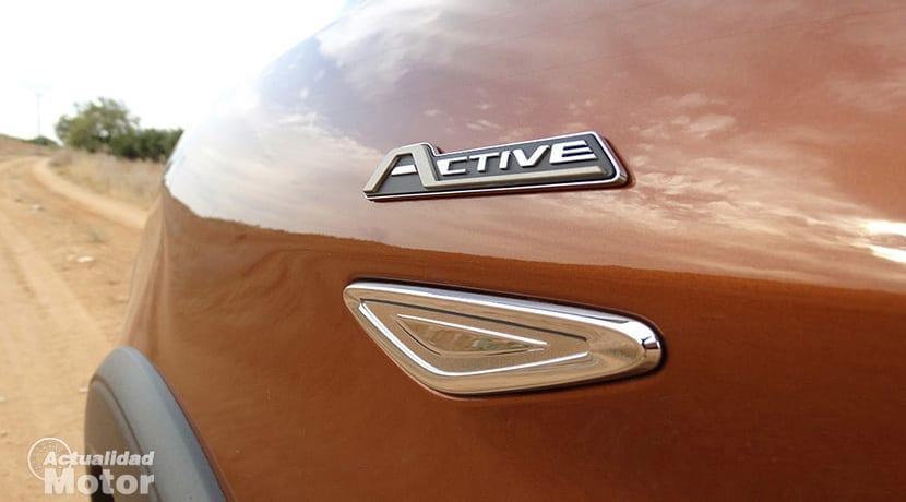 Prueba Ford Ka+ Active detalle