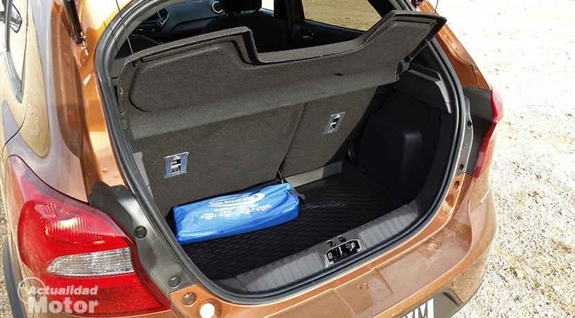 Prueba Ford Ka+ Active maletero