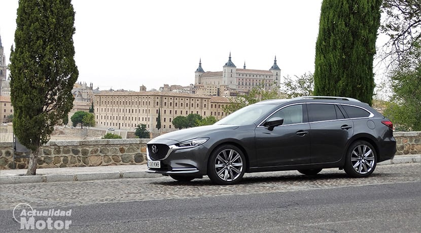 Prueba Mazda 6Wagon lateral