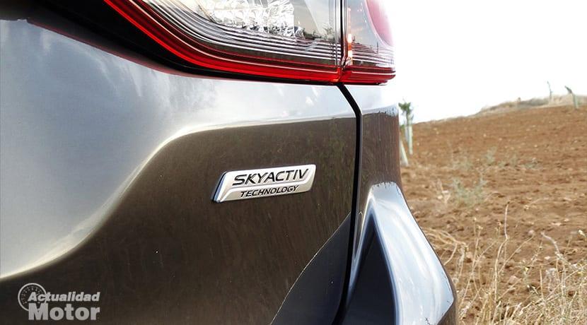 Prueba Mazda 6Wagon detalle exterior