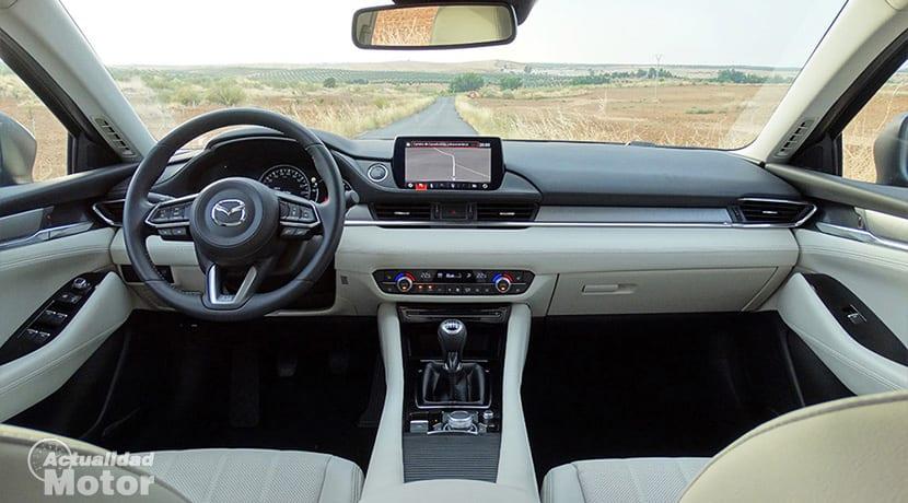 Prueba Mazda 6 Wagon diseño interior