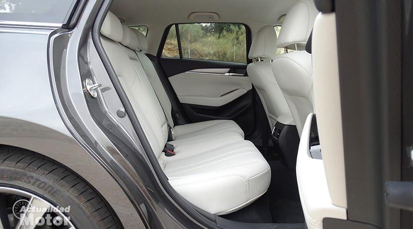 Prueba Mazda 6Wagon plazas traseras