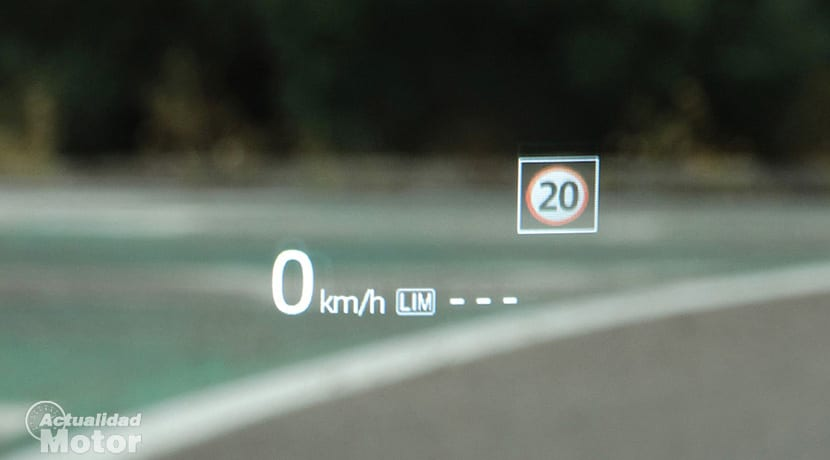 Prueba Mazda 6Wagon Head Up Display