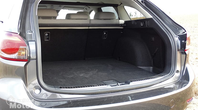 Prueba Mazda 6Wagon maletero