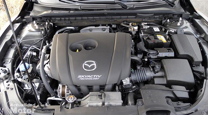Prueba Mazda 6Wagon motor