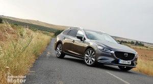 Prueba Mazda6 Wagon perfil delantero