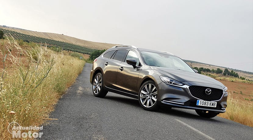 Prueba Mazda 6 Wagon perfil delantero