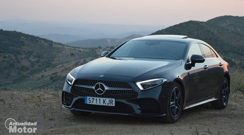 Prueba Mercedes CLS
