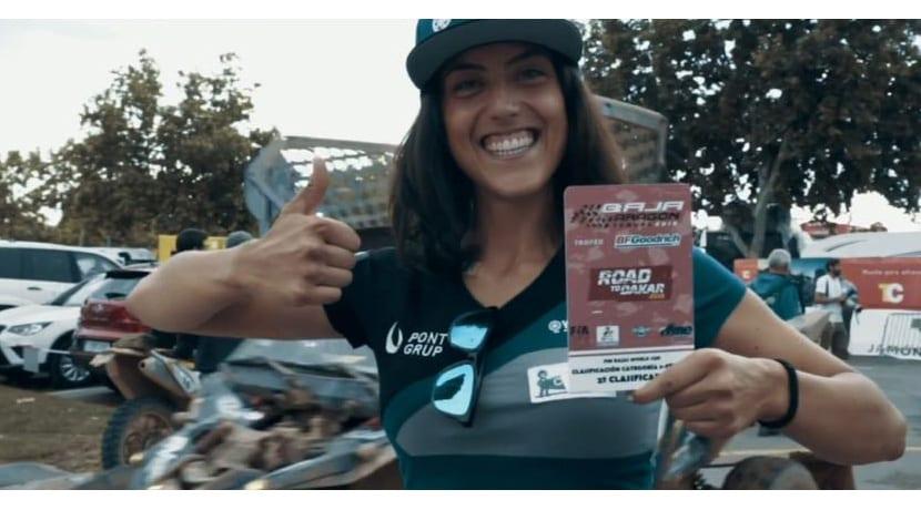 Sara Garcia Dakar 2019 motos