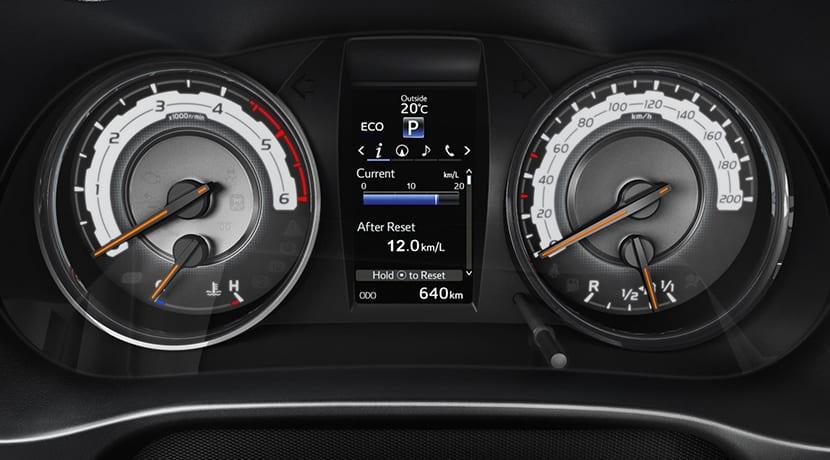 Toyota Hilux Legend cuadro de instrumetos