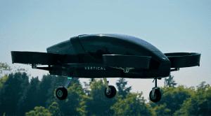 Vertical Aerospacce Aero taxi Coche volador