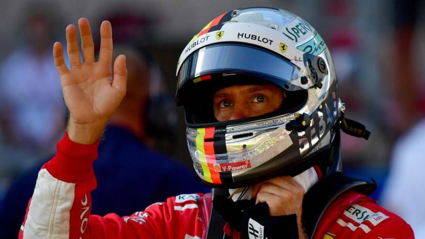 Vettel F1 2018