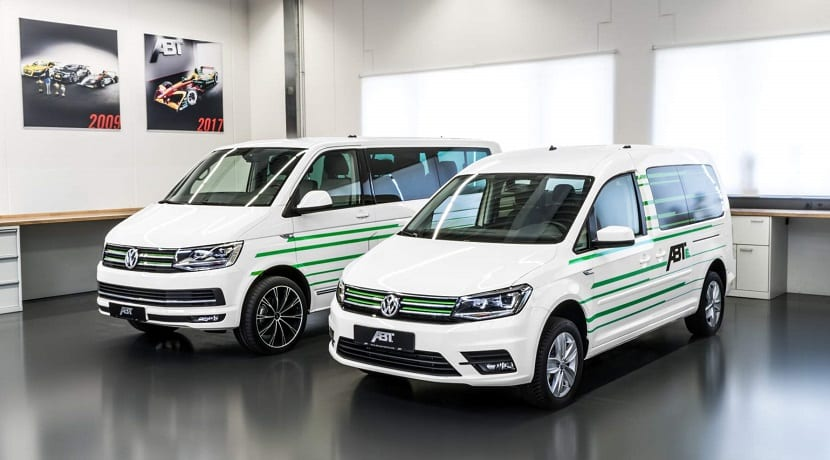 e-Caddy y e-Transporter de ABT