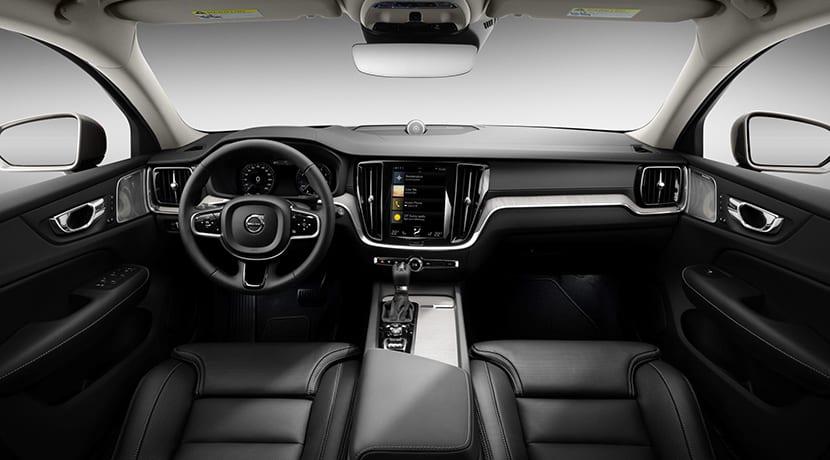 Volvo V60 Cross Country diseño interior