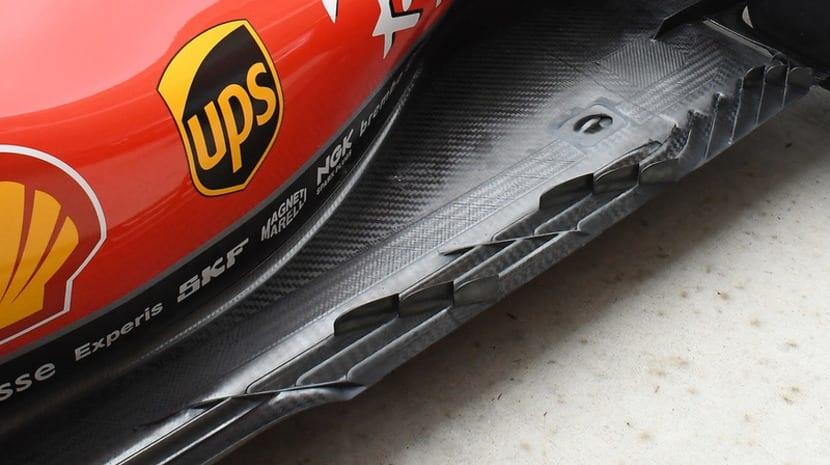 Actualizaciones de Ferrari en Austin 2018