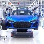 Audi R8 2019 producción
