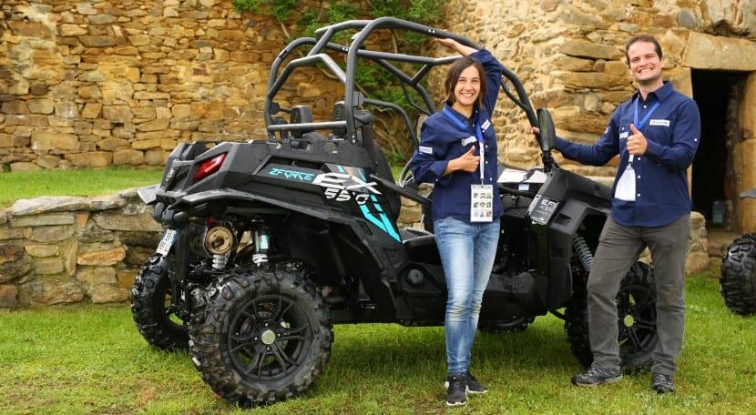 Irene y Luis Equipo 110 Rallye Gzelles& Men 2018