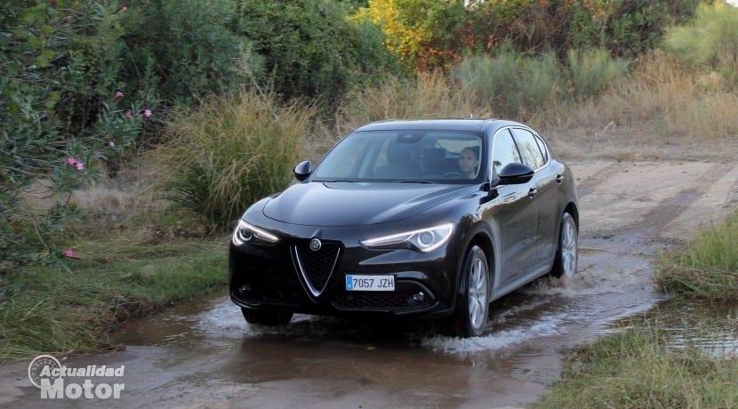 Prueba Alfa Romeo Stelvio 2.2 Diésel 210 CV Super AT8 AWD Q4 4 rec