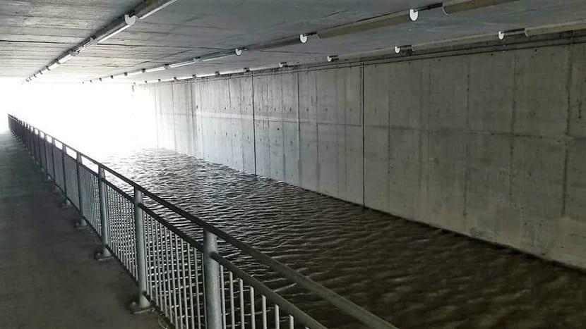 COTA inundado