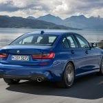 BMW Serie 3 perfil trasero
