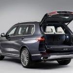Portón trasero del BMW X7