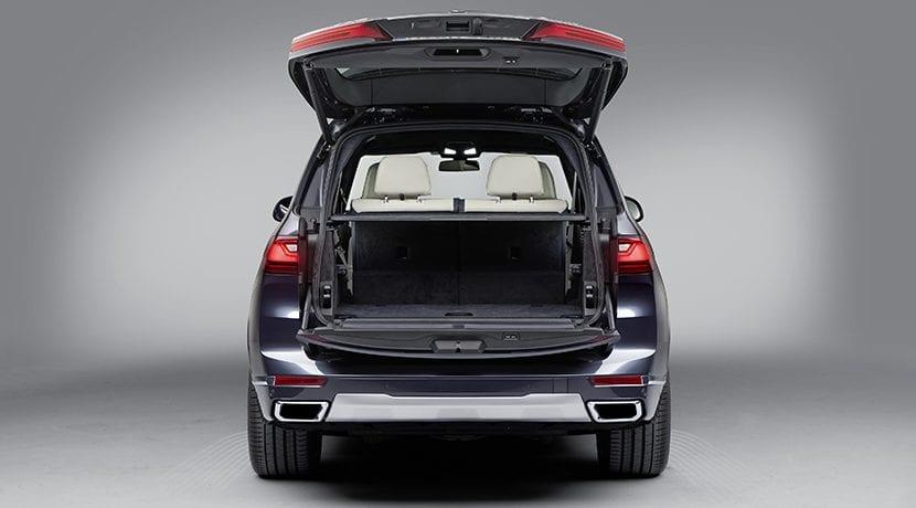 Maletero del BMW X7