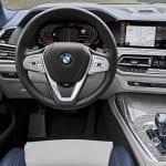 Puesto de conducción del BMW X7